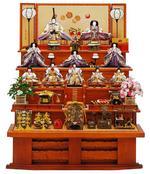 梅紫雲 七段飾りの画像