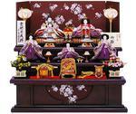 濃紫金彩桜80cmの画像
