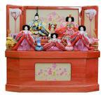 桐製ピンク塗りの画像