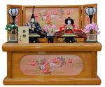 八重桜収納台 木目の画像